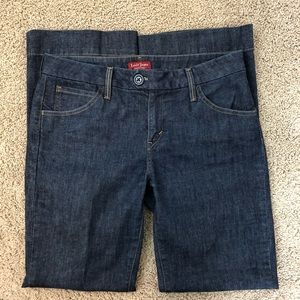 Levi's Wide Leg Trouser Jeans Dark